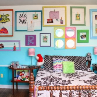 Teen Room Reveal — come see my fun and colorful room on a budget