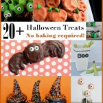 Halloween treats with no baking required!