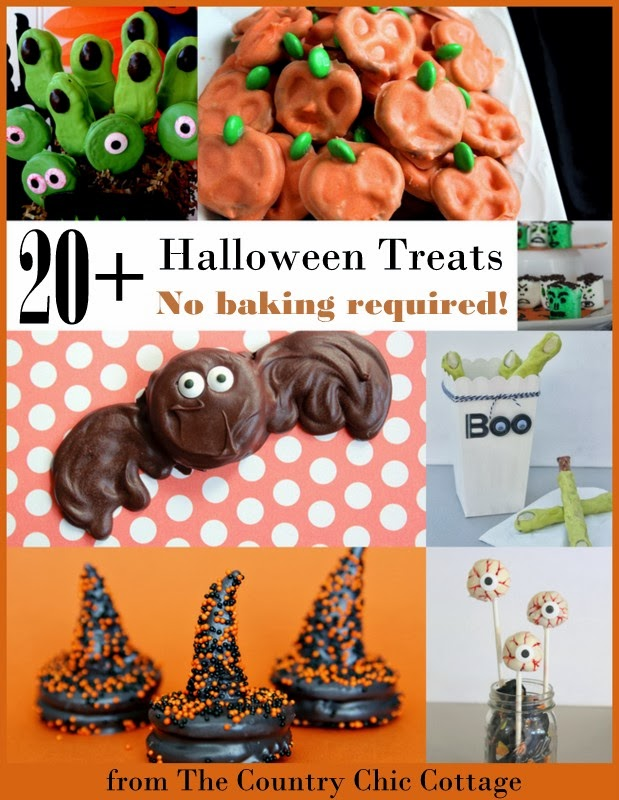 20 Halloween Treats No Baking Required The Country