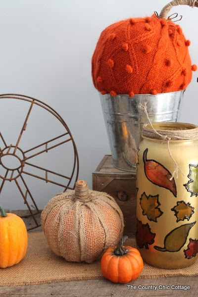 These easy DIY burlap pumpkins are the perfect addition to any fall decor!