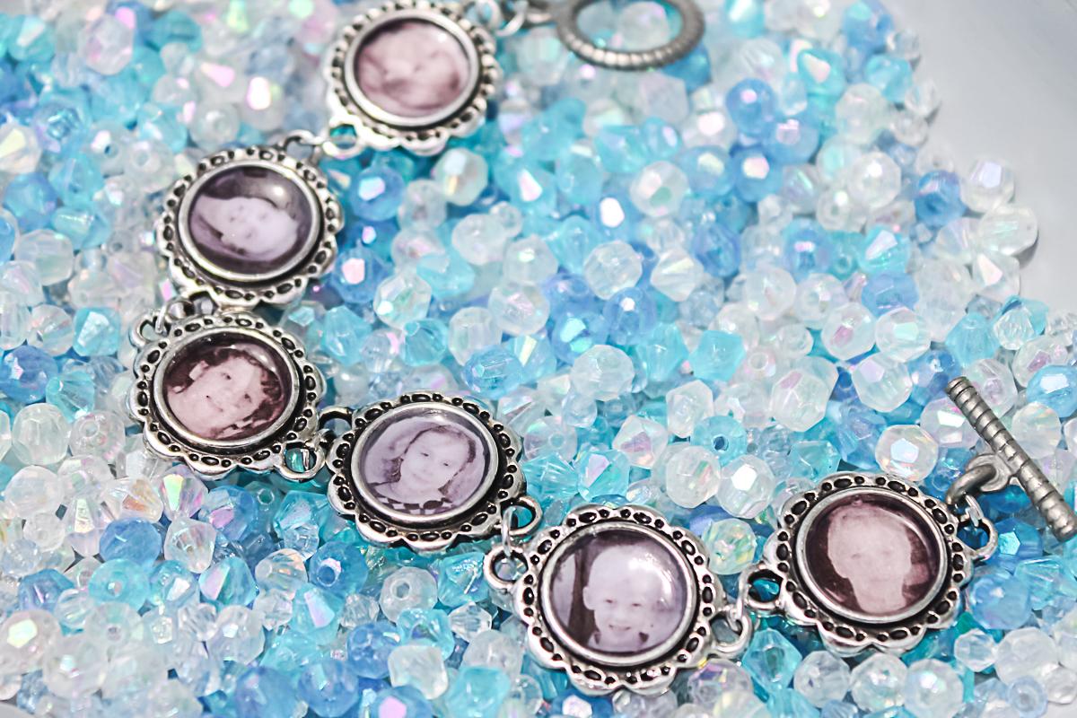 picture charm bracelet