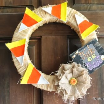 Trick or Treat Halloween Wreath