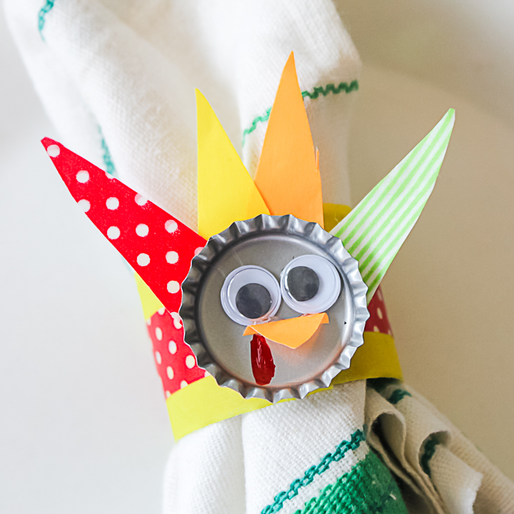 turkey napkin rings craft