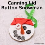 canning lid button snowman-007