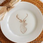 diy deer painted plates-002