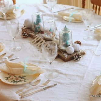 Festive Holiday Tablescape and Prepping for a Holiday Party