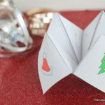 free printable christmas cootie catcher-001
