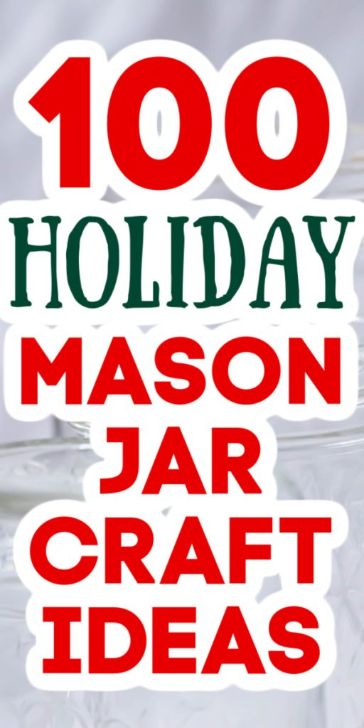 holiday mason jar craft idea