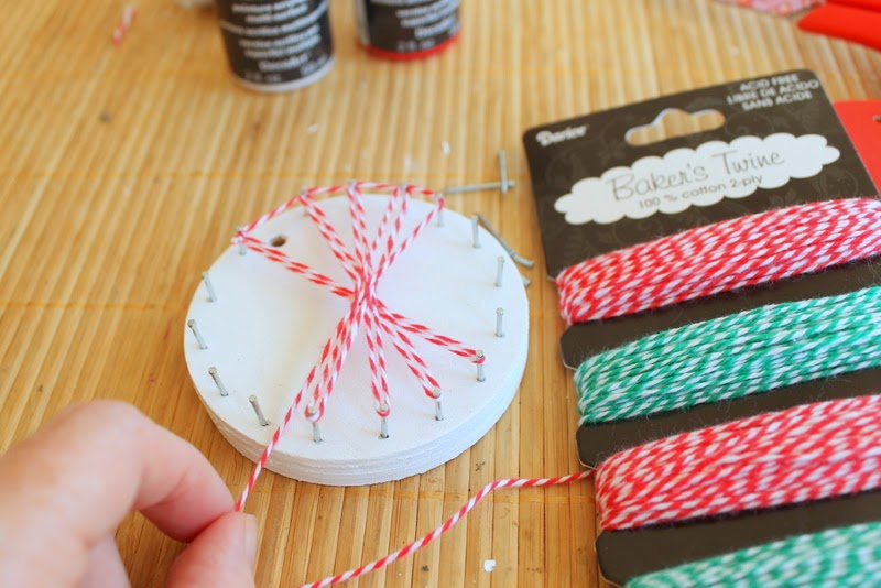 String art ornaments the country chic cottage string art ornaments a fun and unique craft project to make with your kids solutioingenieria Images