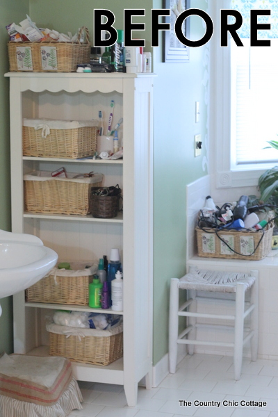 Bathroom organization tips and tricks the country chic Bathroom organizing ideas