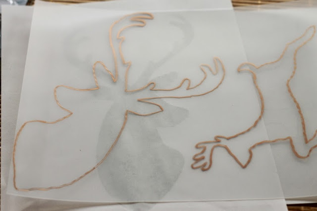 DIY Glitter Deer Shrink Plastic Ornaments -- a quick and easy ornament tutorial to show you how to make these great glitter deer.DIY Glitter Deer Shrink Plastic Ornaments -- a quick and easy ornament tutorial to show you how to make these great glitter deer.