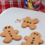 peanut butter gingerbread cookie recipe-002