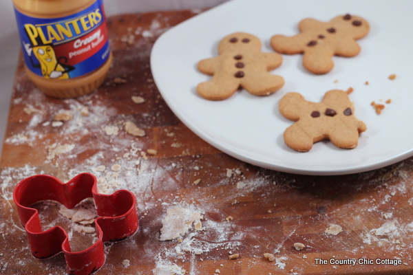 Peanut Butter Gingerbread Cookie Recipe -- one pinner says this is the best gingerbread she has ever eaten!