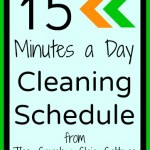 15minutecleaningschedule