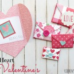 cl1v Folded Heart Valentines