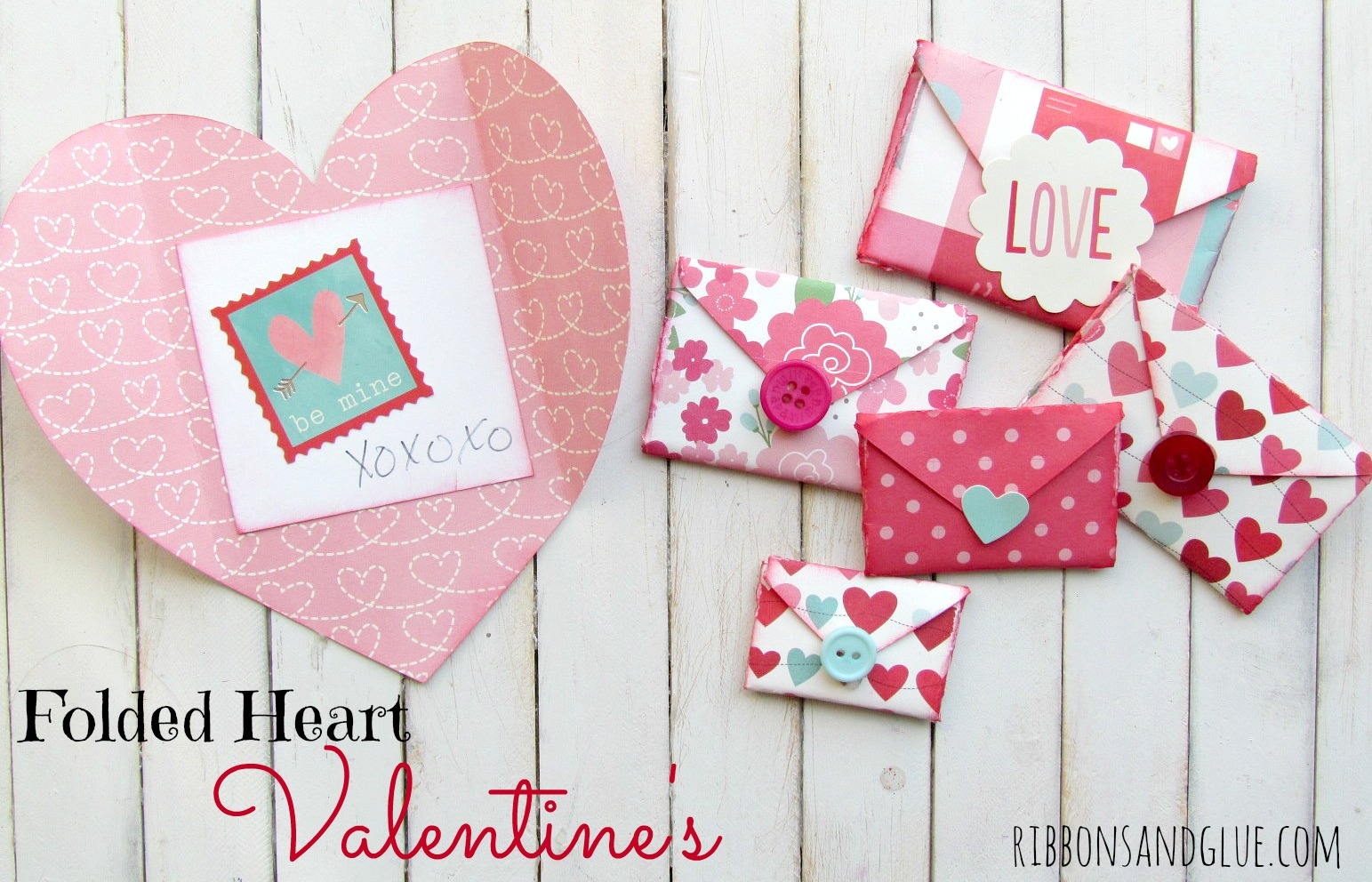 Quick and easy valentine crafts - Quick And Easy Crafts Valentine S Craft Lightning Day 1 And 2 Round Up The Country Chic Cottage