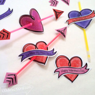Quick and Easy Crafts Day 4 Valentine's Day Round Up