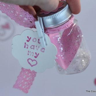 Heart in a Jar Valentine #valentineshoa