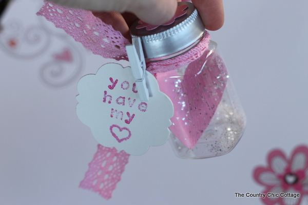 Heart In A Jar Valentine Valentineshoa The Country Chic
