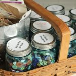 organizing buttons with mason jars-001