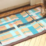 painted plaid rug-006