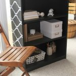 stenciled bookcase-003