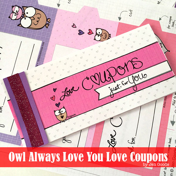 valentines coupon book free printable the country chic cottage - Valentine Coupon Book