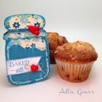 Canning Card Baked with Love