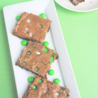 Saint Patrick's Day Brownies