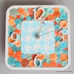 diy button clock-005