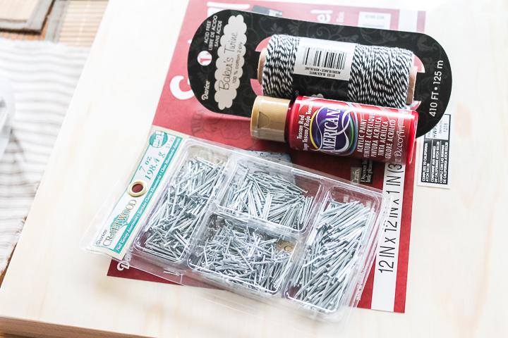 supplies to make string art