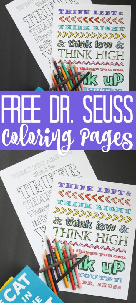 Dr Seuss Coloring Pages The Country Chic Cottage