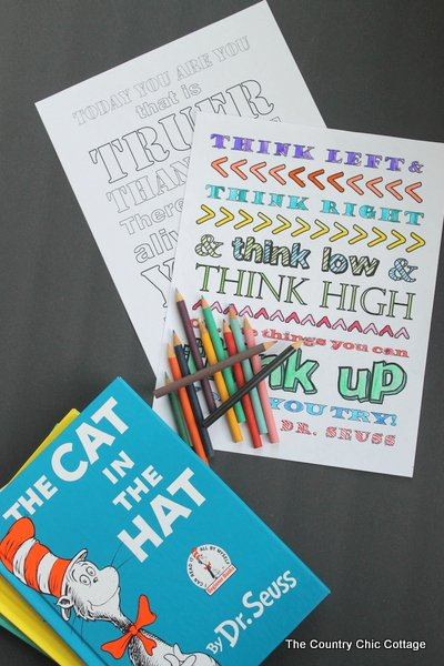 Dr Seuss Coloring Pages Free Printables The Country