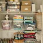 organized craft closet-001