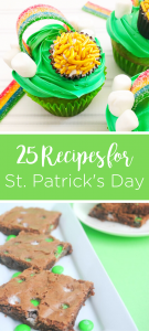 Give these Saint Patrick's Day Recipes a try! We have 25 great recipes to serve up with a green theme for any occasion or party that you are planning.