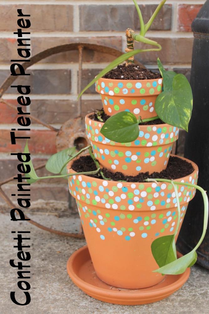 painting terracotta pots