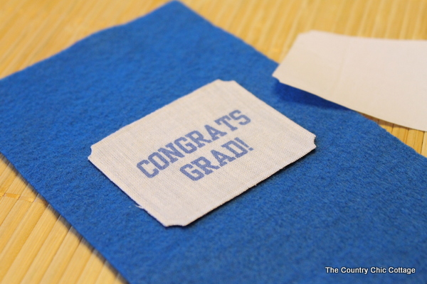Gift card holder for Graduates -- make this personalized handmade gift card holder for the graduate in your life.
