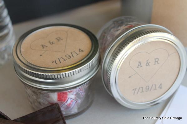 make jar labels