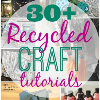 Recycled Crafts -- a collection of crafts to make with recycled materials.