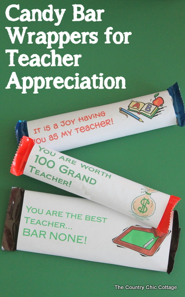 tacl1 candy bar wrappers for teacher appreciation day