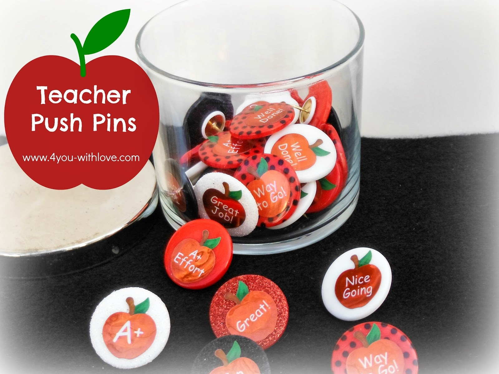 tacl1 teacher appreciation push pins