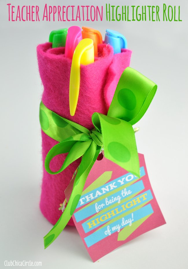 tacl2 Easy-Teacher-Appreciation-Highlighter-Gift-Idea
