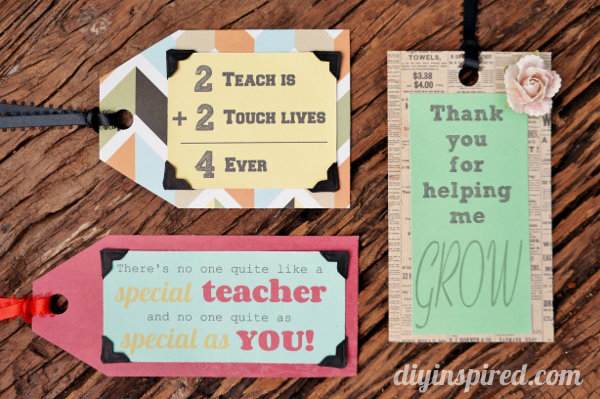 Teacher Appreciation Week Sayings: Teacher Appreciation Week 3   quick crafts   The Country Chic Cottage,