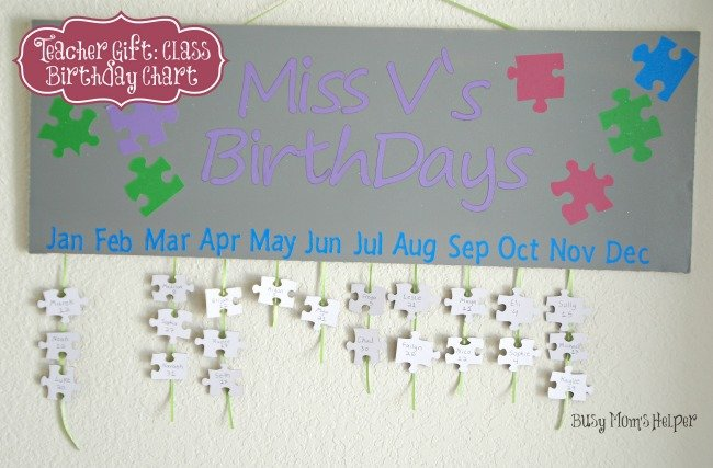 Classroom Birthday Ideas For A Teacher ~ Teacher appreciation week quick crafts the country