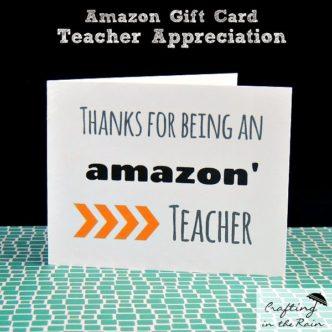 Teacher Appreciation Week 4 — quick crafts