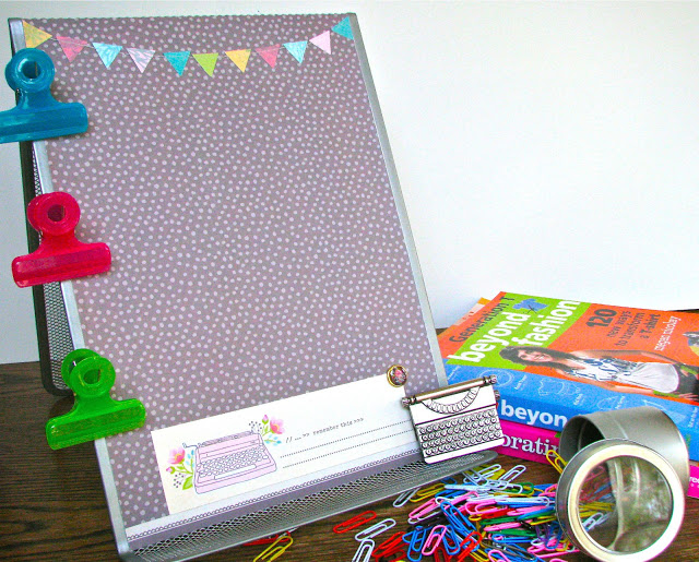 tacl4 feature Paper & Book Holder Makeover