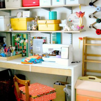 Organized Craft Room Tours -- tours of fabulous craft rooms with tons of ideas for organization.