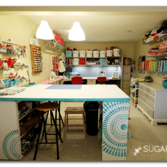 Craft Room Tours -- get tons of great inspiration with this collection of over 30 craft and work room tours.