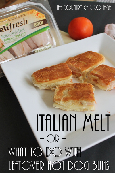 italian melt or what to do with leftover hot dog buns-003