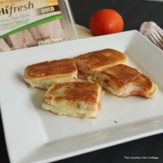 Make this italian melt sandwich plus learn how to use up leftover hot dog buns!
